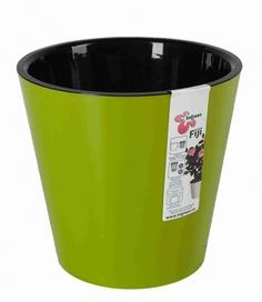 Горшок для цветов INGREEN ING1554СЛ Фиджи D 200 мм/4л салатовый