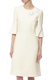 Платье женское Fendi FD907846RF0ZNM белое 42 DE
