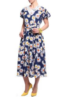 Платье женское Kristina П-5466 разноцветное 46 RU