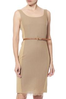 Платье женское Max Mara 16211352/06 бежевое 46 IT