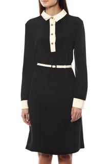 Платье женское PRADA P392PH/F057Z черное 50 IT
