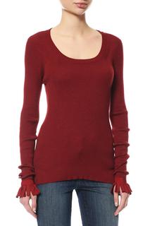 Пуловер женский Fendi FZZ8208DFF02NG красный 42 DE