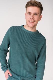 Джемпер мужской BLUE SEVEN 376162X зеленый M