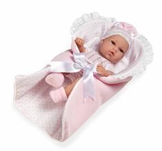 Пупс elegance розовый конверт 33 см Arias Т11070
