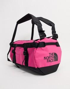 Темно-розовая маленькая сумка дафл вместимостью 31 л The North Face Base Camp-Розовый