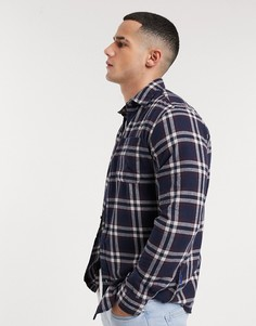 Рубашка с длинными рукавами Jack & Jones-Темно-синий