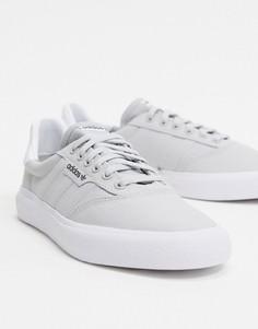 Серые кроссовки adidas Originals 3MC-Серый