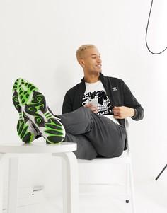 Черная олимпийка с логотипом-трилистником adidas Originals-Черный