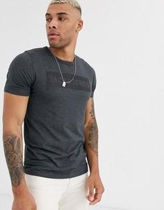 Темно-серая футболка с логотипом Jack & Jones Originals-Серый