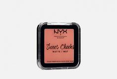 Матовые прессованные румяна для лица NyxProfessional Makeup
