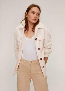 Хлопковая куртка со множеством карманов - Margot Mango