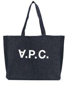 A.P.C. джинсовая сумка-тоут Daniela