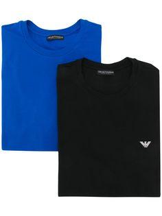 Emporio Armani комплект из двух футболок с круглым вырезом