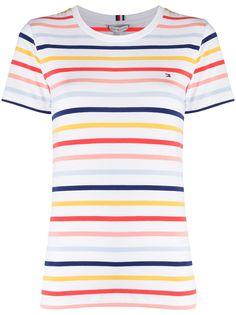 Tommy Hilfiger футболка в бретонскую полоску