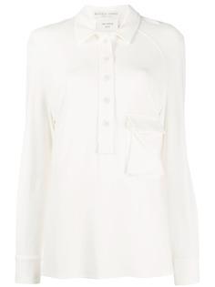 Bottega Veneta рубашка-поло с карманами