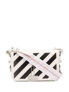 Off-White сумка через плечо с диагональными полосками