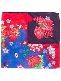 Engineered Garments платок-паше с цветочным принтом