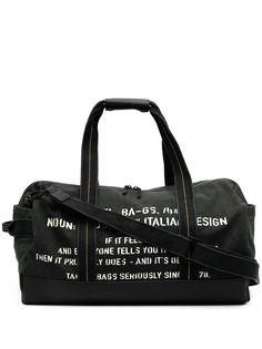 Diesel дорожная сумка с надписью