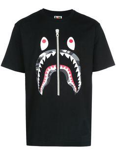 BAPE футболка с графичным принтом