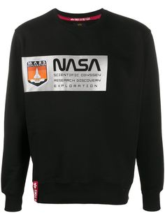 Alpha Industries NASA print sweatshirt