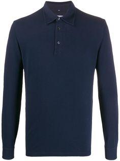 Ballantyne рубашка-поло с длинными рукавами
