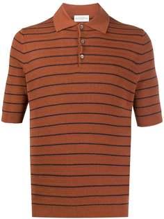 Ballantyne трикотажная рубашка-поло в полоску