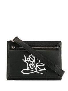 Ports V сумка на плечо с принтом граффити