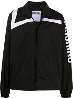 Moschino спортивная куртка с логотипом