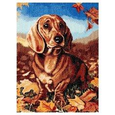 Hobby & Pro Набор для вышивания Осенняя грусть 29 х 39 см (724)