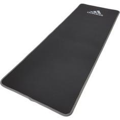 Коврик для фитнеса Adidas ADMT-12235GR (мат) мягкий 10 мм, серый