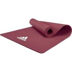 Коврик для йоги Adidas цвет загадочно-красный ADYG-10100MR