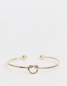 Золотистый браслет с подвеской Nylon-Золотой