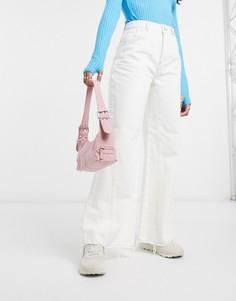 Пыльно-розовая сумка на плечо в стиле 90-х ASOS DESIGN-Розовый