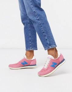 Розовые кроссовки New Balance 720-Розовый