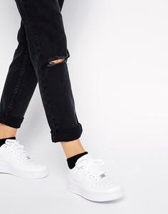 Белые кроссовки Nike Air Force 1 07-Белый