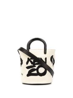 Kenzo сумка-ведро с логотипом
