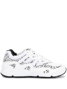 New Balance кроссовки с леопардовым принтом