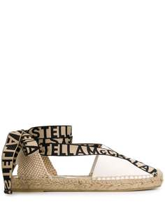 Stella McCartney эспадрильи на шнуровке с логотипом