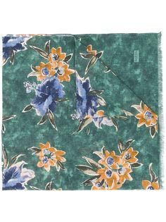 Barba шарф с цветочным принтом