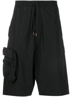 Maharishi шорты-бермуды с накладным карманом