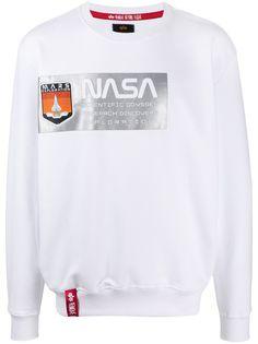 Alpha Industries x NASA logo sweatshirt