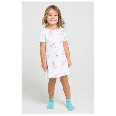 Сорочка crockid размер 110, белый