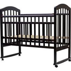 Кроватка Топотушки 120х60 ЛИРА-2 (арт.23) кол/качалка (венге)