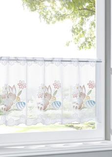 Кухонная штора с пасхальными зайцами Bonprix