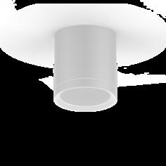 LED светильник накладной с рассеивателем HD022 6W (белый) 4100K 68х75,420лм, 1/30 Gauss