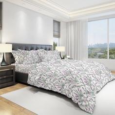 Комплект постельного белья двуспальный-евро Amore Mio, Bouquet 11563
