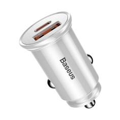 Автомобильное зарядное устройство Baseus PD3.0+QC4.0+USB+USB Type-C Baseus 30W CCALL-YS02