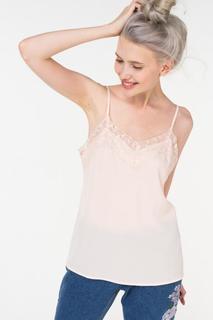 Блуза женская Incity 1.1.2.18.01.04.00462/131405 розовая 48 RU