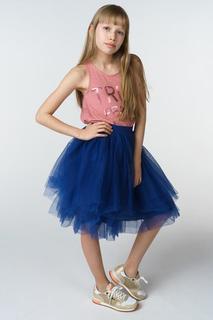 Юбка для девочки Gulliver, цв.синий, р-р 158