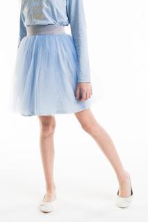 Юбка для девочки Gulliver, цв.голубой, р-р 128